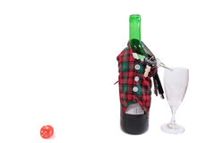 New year drink driving kills Royalty Free Stock Images