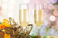 New year drink Royalty Free Stock Photography