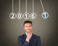 New Year 2017 Energy Concepts Royalty Free Stock Photography
