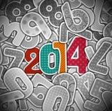New 2014 year Stock Photo