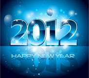 New year eve background. New Years design 2012 with back light and place for your text Stock Photos