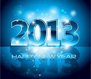 New Year Eve Background. 2013 New Year Background EPS 10 Royalty Free Stock Images