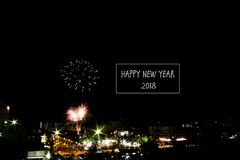 New Year Eve at Ipoh royalty free stock photography