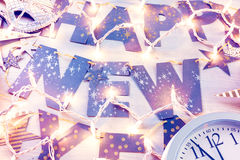 New Year Eve party stock photography