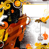 New-year evening-party Royalty Free Stock Images