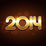 New year event. Shiny happy new year event design Stock Photography