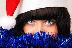 New year eyes Royalty Free Stock Photography