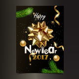 New Year fest Royalty Free Stock Photo