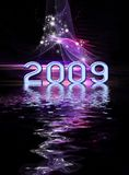 New Year festive background Stock Photo