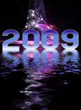 New Year festive background Royalty Free Stock Photos