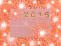 New year2015 Stock Photos