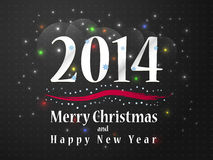New year 2014. Festive background in honor of Christmas and new year 2014 Stock Images
