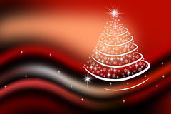 New-year fir-tree Stock Images