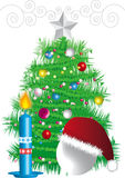 New-year fir tree Stock Image