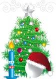 New-year fir tree Stock Image