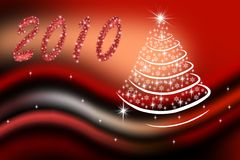 New-year fir-tree Royalty Free Stock Photo