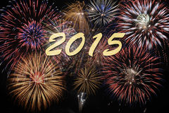 New year 2015 Stock Images