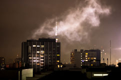 New year fireworks in berlin Stock Photography