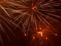 New Year fireworks 2014 Royalty Free Stock Photo
