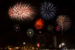 New Year Fireworks Royalty Free Stock Photo