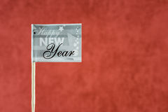 New year flag Stock Photo