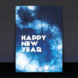 New Year Flyer or Cover Design Royalty Free Stock Image