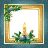 New year framework or invitation card,  Stock Image