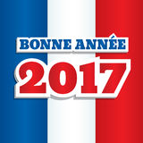 New Year 2017 France Royalty Free Stock Photos