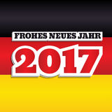New Year 2017 Germany Royalty Free Stock Image