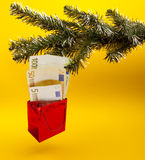New year gift Stock Images