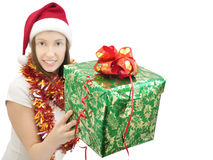 New Year gift 2 Stock Photography