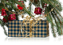 New year gift Stock Photos