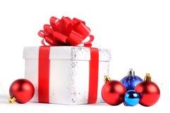 New year gift box Royalty Free Stock Photo