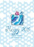 New year gift Stock Photo