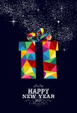 New year 2015 gift greeting card Royalty Free Stock Images
