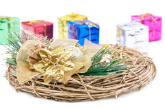 New year gifts Royalty Free Stock Photo