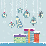 New year gifts stock illustration
