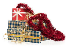 New year gifts Stock Photography