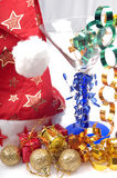 New year gifts and decorations Royalty Free Stock Image
