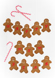 New Year Gingerbread Royalty Free Stock Photos
