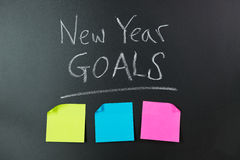 New Year Goals Stock Photography