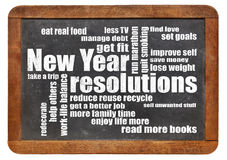 New Year goals or resolutions Stock Photos