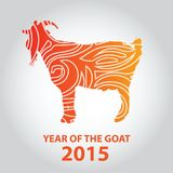 New Year of the Goat 2015 Stock Photography