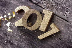 New year 2017 Stock Images