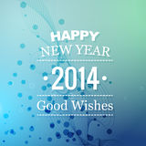 New year good wishes Stock Photography