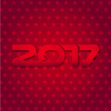 New year 2017. Graphic background for the new year coming - 2017 Stock Photo