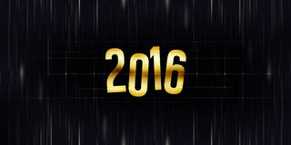 2016 New Year. Graphic illustration design Royalty Free Stock Photo