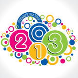 New year greeting Stock Photography