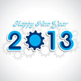 New year greeting Stock Image
