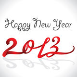 New Year Greeting. Card 2013 Stock Photos